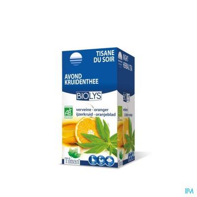 Biolys Ijzerkruid-oranje Bio Tea-bags 20