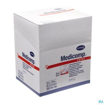 MEDICOMP KP STER 6PL        7,5X7,5CM 25X2 4110761