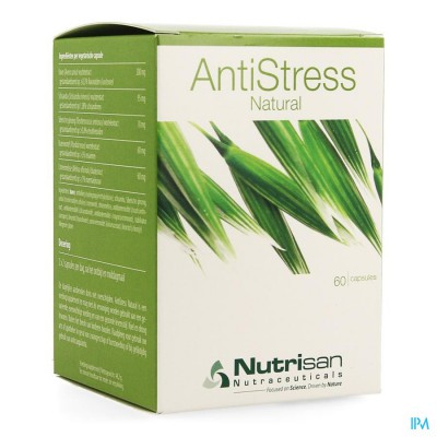 Antistress Natural 60 Caps Nutrisan