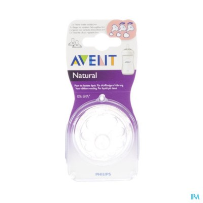 PHILIPS AVENT NATURAL ZUIGSPEEN MEDIUM 3GAATJES  2