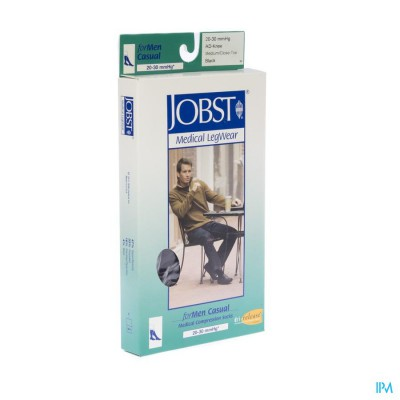 Jobst For Men K2 20-30 Adh Zwart M 1p 7525804