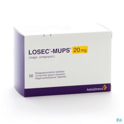 LOSEC MUPS COMP 56 X 20 MG