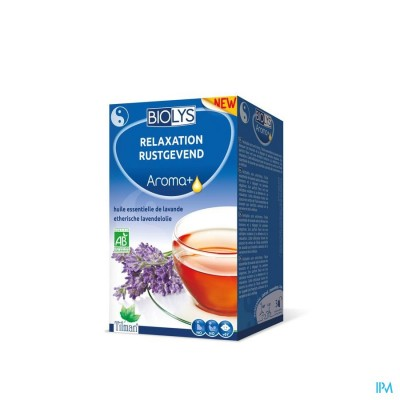 Biolys Aroma+ Relax Kruidenthee Zakje 20
