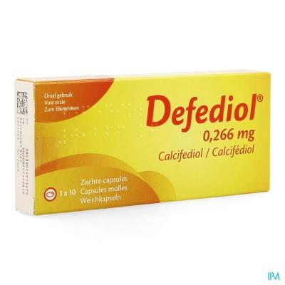 DEFEDIOL 0,266MG ZACHTE CAPS 10