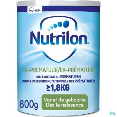 Nutrilon Ex-prematuur Pdr 800g