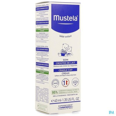 Mustela Ss Verzoring Melkkorstjes Nf 40ml
