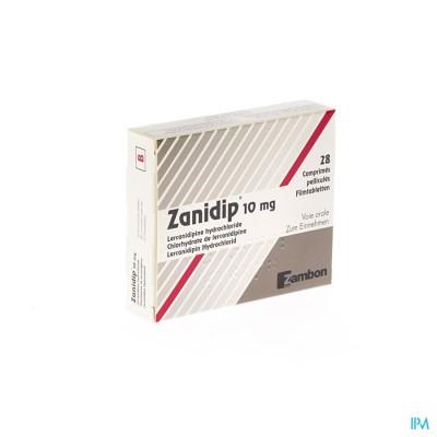 ZANIDIP COMP 28 X 10 MG