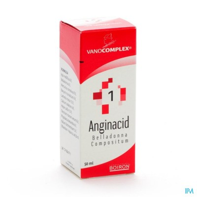 Vanocomplex N 1 Anginacid Gutt 50ml Unda