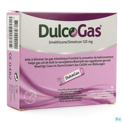 Dulcogas Granul. Sticks 18x125mg