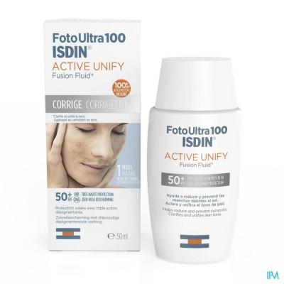 Isdin Foto Ultra 100 Active Unify Ip50+ 50ml