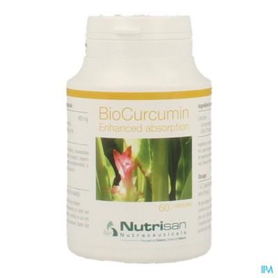 Biocurcumin Pot 60 Caps Nutrisan