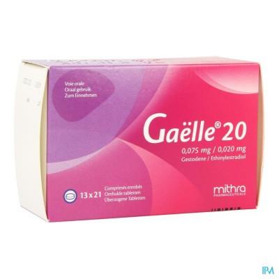 GAELLE 20 COMP 13 X 21