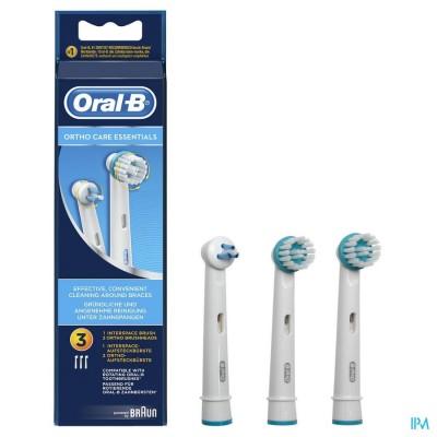 ORAL B REFILL EB ORTHO KIT 3