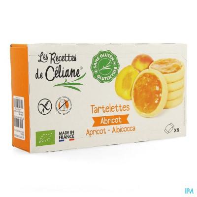 Celiane Abrikozentaartje Glutenvrij Bio 165g 4594