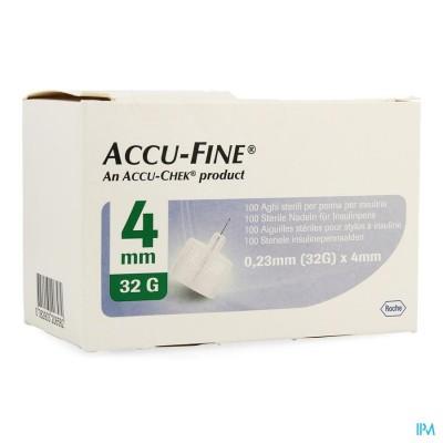 ACCU FINE 32G 4MM               100