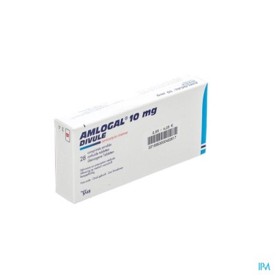 AMLOGAL DIVULE 10 MG COMP ENROB 28 X 10 MG
