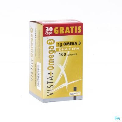 VISTA OMEGA 3            CAPS  70+30 GRATIS  PROMO