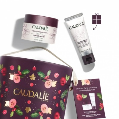CAUDALIE SET BODY CARE KERST               2 PROD.