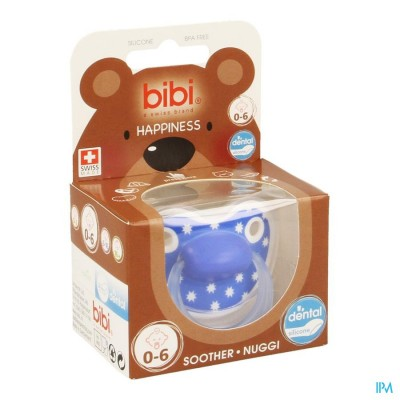 BIBI FOPSPEEN HP DENTAL LOVELY DOTS          0- 6M