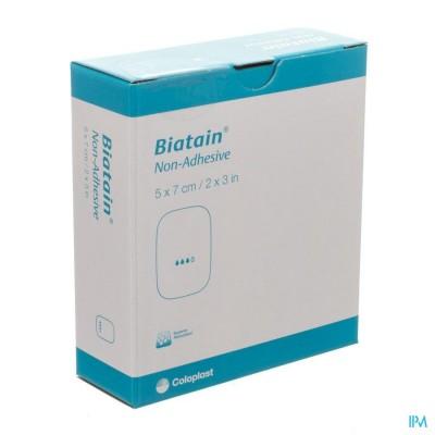 BIATAIN SCHUIMVERBAND N/ADH    5,0X 7,0CM 10 36105