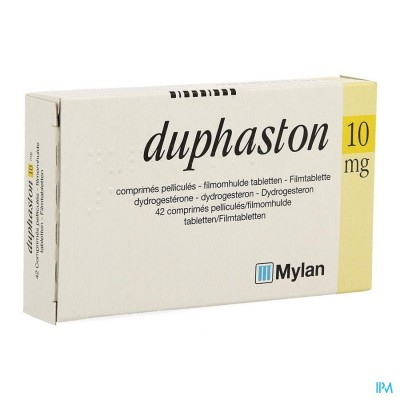 DUPHASTON COMP SEC 42 X 10 MG