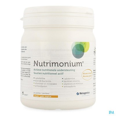 Nutrimonium Tropical Pdr Pot 56 22971 Metagenics