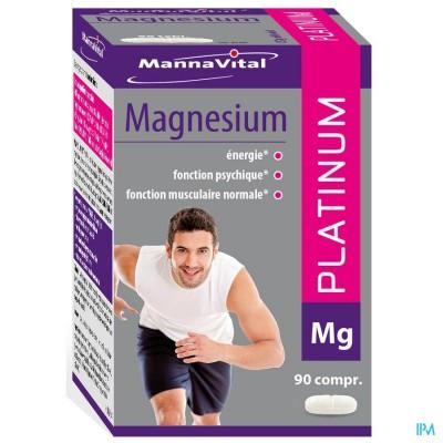 MANNAVITAL MAGNESIUM PLATINUM NF TABL  90