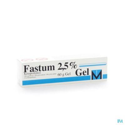 FASTUM GEL 2,5%  60 GR