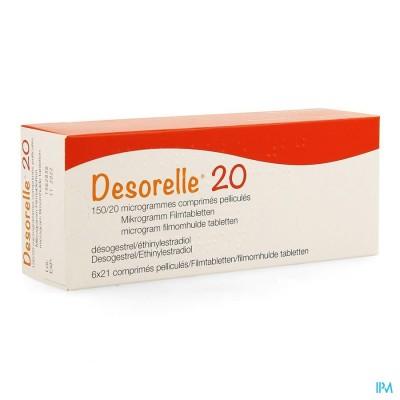 DESORELLE 20 COMP  6 X 21
