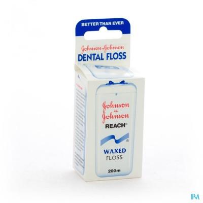Johnson Reach Dental Floss Waxed 200m