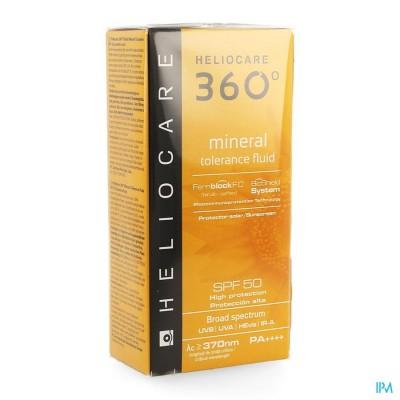 HELIOCARE 360° MINERAL TOLERANCE FLUID IP50   50ML