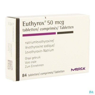 EUTHYROX COMP  84 X 0,050 MG