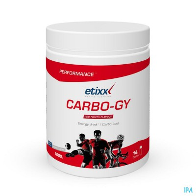 ETIXX CARBO GY RED FRUITS            PDR POT 1000G