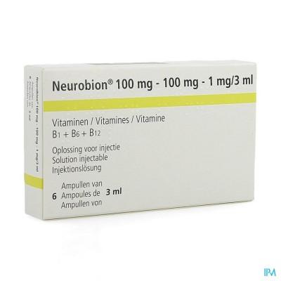 NEUROBION AMP 6 X 3 ML