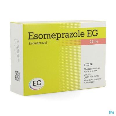 ESOMEPRAZOLE EG 20MG HARDE CAPS MAAGSAPRES 28X20MG