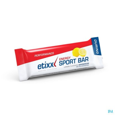 ETIXX ENERGY SPORT BAR LEMON  1X40G