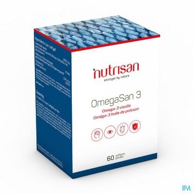 Omegasan 3 Nf 60 Softgels  Nutrisan