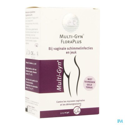 MULTI-GYN FLORA PLUS GEL 5 X 5ML