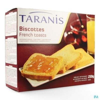 TARANIS BESCHUITEN         4X6 (250G) 4613 REVOGAN