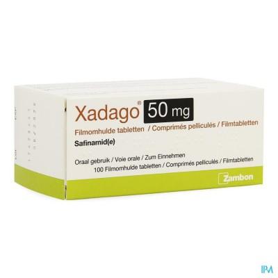 XADAGO  50MG FILMOMH TABL 100 X  50MG