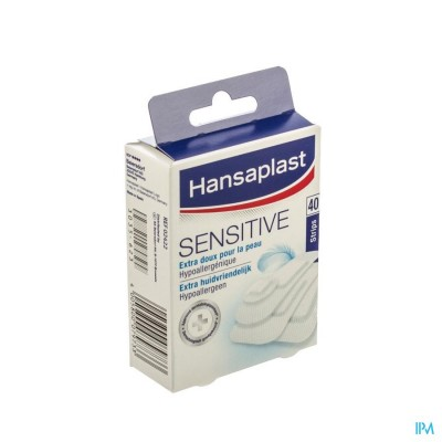 HANSAPLAST SENSITIVE      STRIPS 40