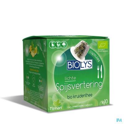 BIOLYS SPIJSVERTERING       CAPS 10