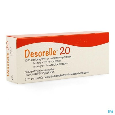 DESORELLE 20 COMP  3 X 21