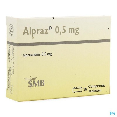 ALPRAZ COMP 28X0,5MG