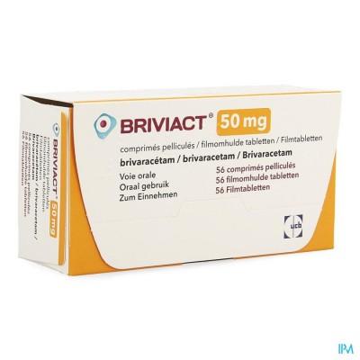 BRIVIACT  50MG FILMOMH TABL   56 X  50MG