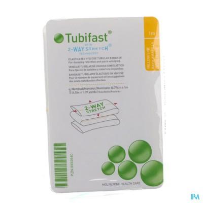 Tubifast Geel 10,75cmx 1m 1 2483