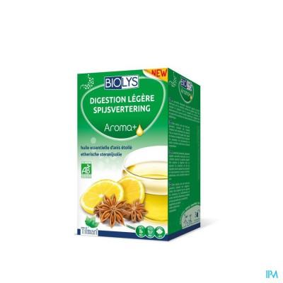Biolys Aroma+ Digestion Kruidenthee Zakje 20