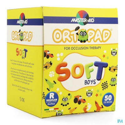 Ortopad Soft Boys Regular 85x59mm 50 72244