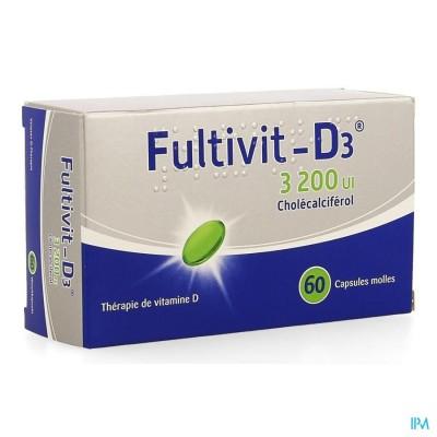 FULTIVIT-D3  3200IE CAPS ZACHT 60