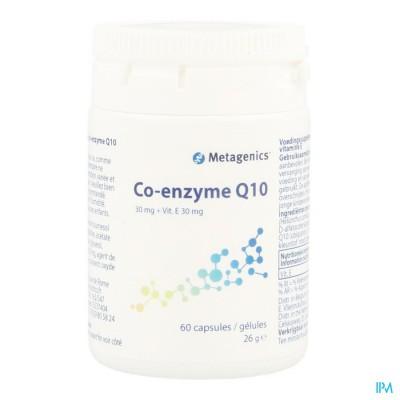 Coenzyme Q10 30mg+vtt E Caps 60 6493 Metagenics